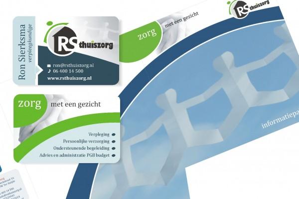 Visitekaartjes en informatiemappen RSthuiszorg