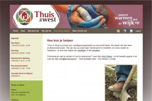 Website Thuis in West