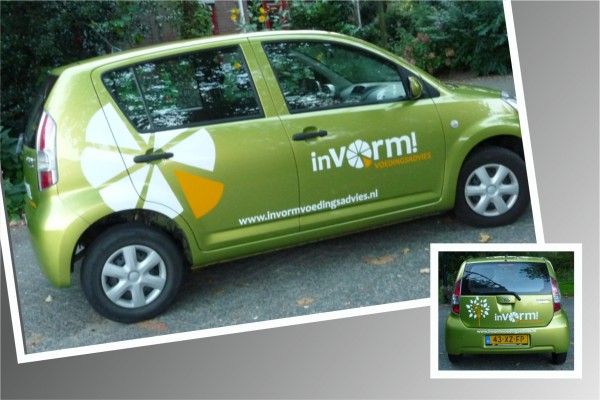 Autobestickering InVorm! - Voedingsadvies