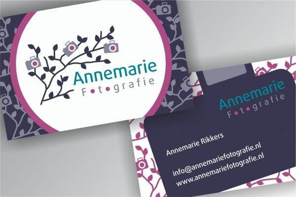 Visitekaartjes Annemarie Fotografie