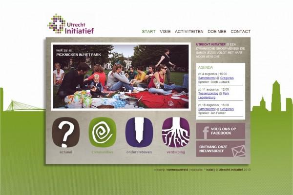 Website Utrecht Initiatief